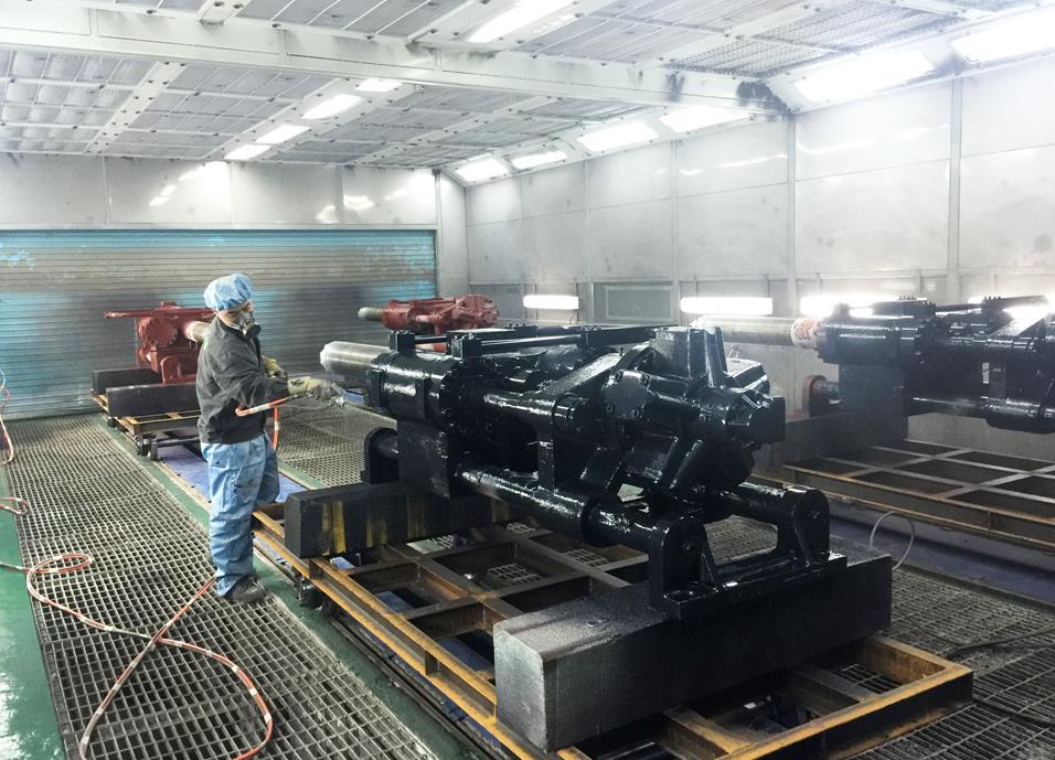 重庆机械喷漆设备